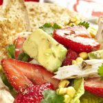 chicken strawberry mexican salad