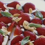 strawberry chocolate pizza