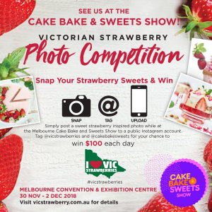 Strawberry photo competition contest